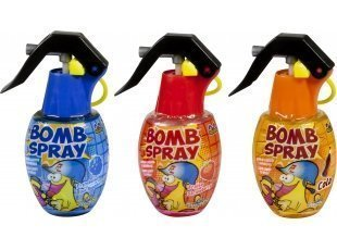 Bomb spray bleu