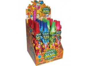 Giant xxl candy spray rouge ise