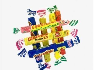 Carambar assortis  sachet de 7 pieces