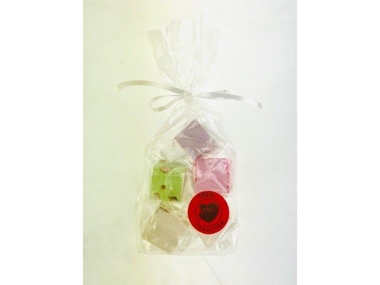 Cube nougat amande sachet de 5 pieces