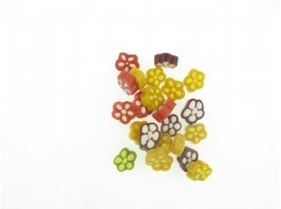 Flower power gout fruit haribo