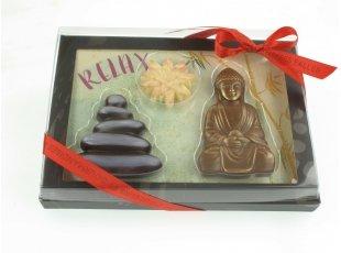 Tableau zen en chocolat