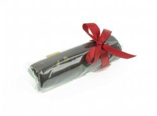 Barre massepain à l'orange chocolat noir