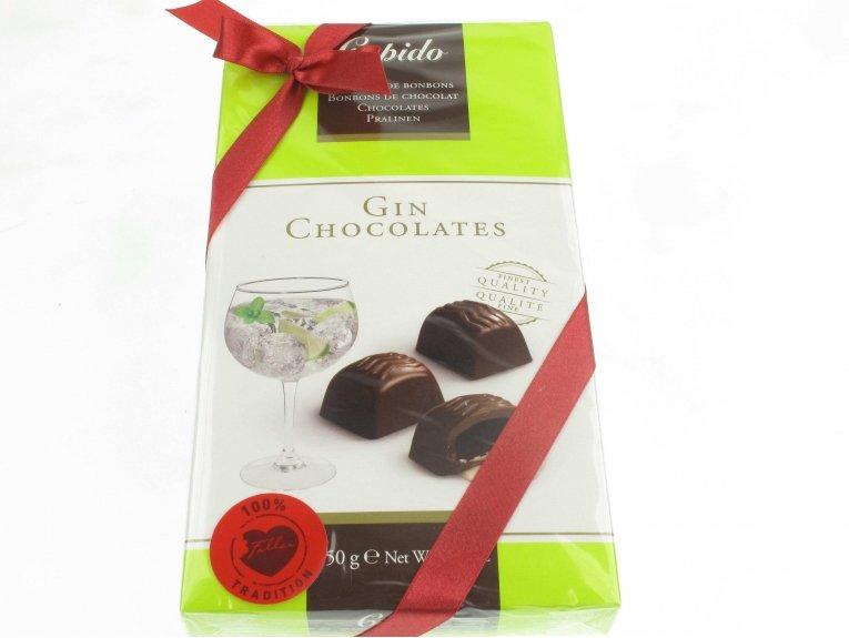 Coffret chocolats fourrés au Gin