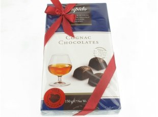 Coffret chocolats fourrés au Cognac