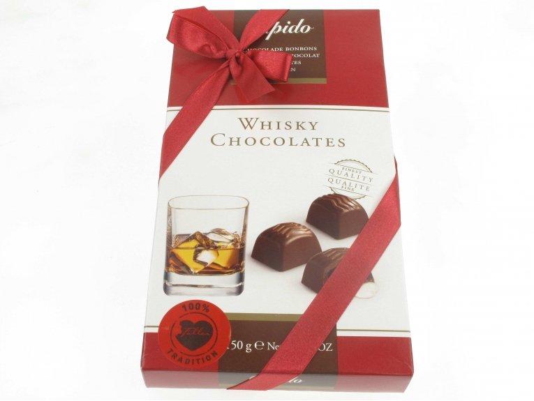Coffret chocolats fourrés au Whisky
