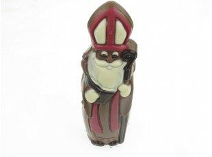 Saint Nicolas décoré au chocolat au lait
