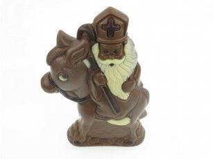 saint Nicolas sur son âne