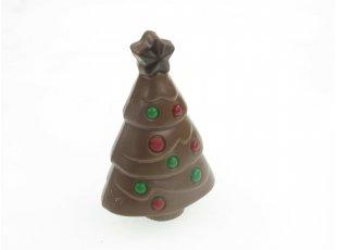 Sapin de Noël au chocolat au lait