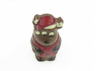 Élan de noël  chocolat au ait décoré