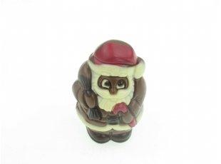 Père Noël en chocolat au lait