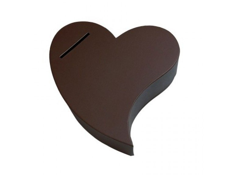 Urne mariage coeur chocolat