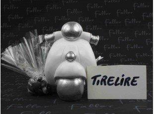 Tirelire scooter souvenir de mariage et dragées