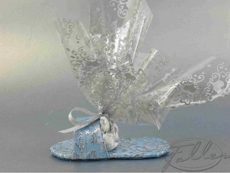 Sandale turquoise pour fête & mariage oriental