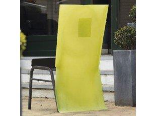 Housses de chaise anis avec poche