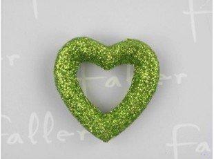 Coeur relief anis pour deco table de fete