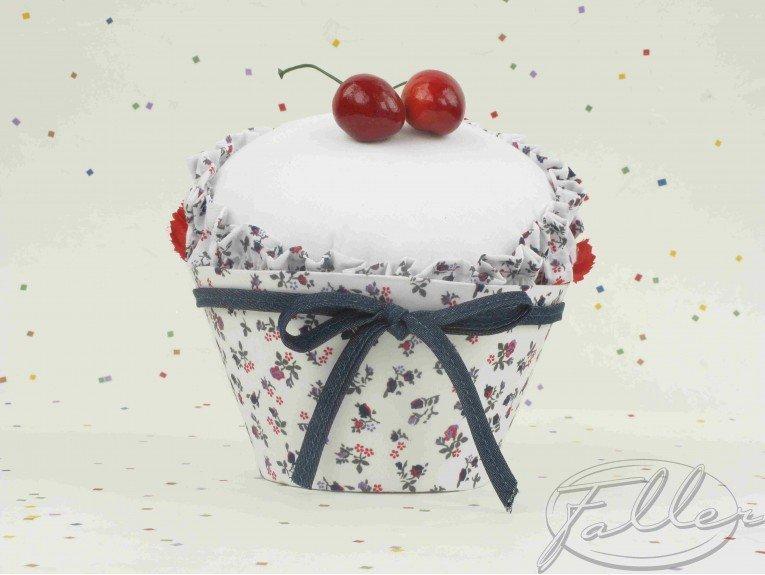 Grande boite cupcake cerise et bebe soufflage