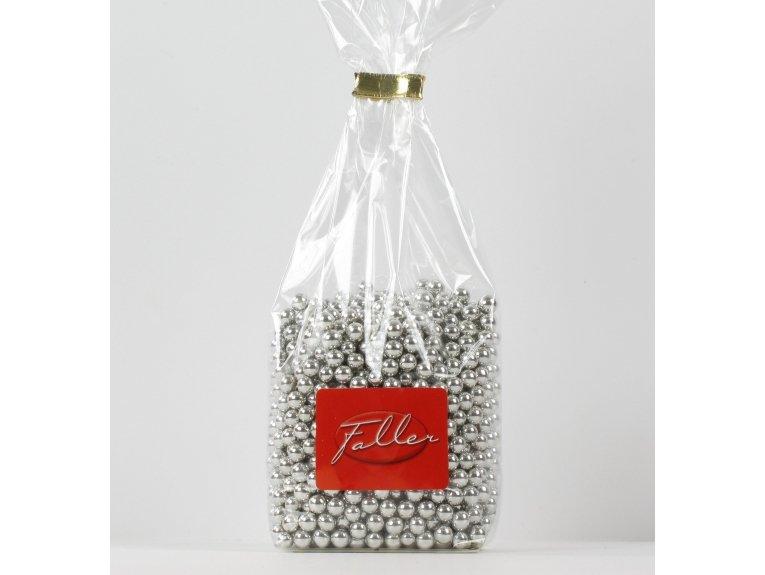 Perles argent au sucre (200 gr)