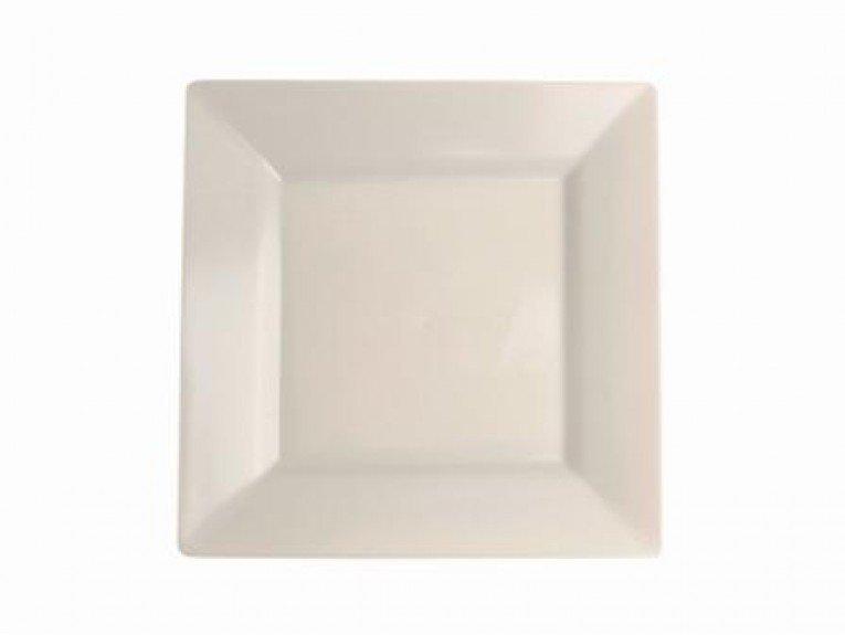Grande assiette transparente (plastique)