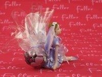 Petite elfe lilas avec dragées