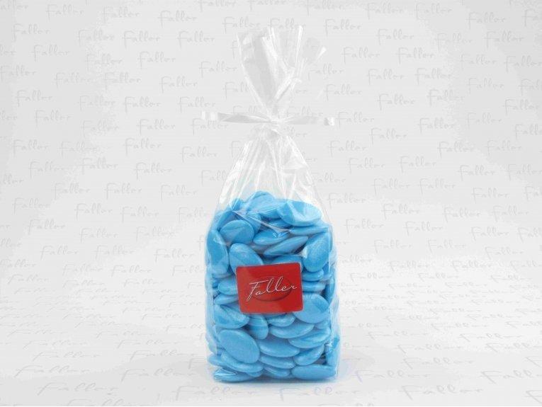 Sachet dragées turquoise (1 kg.)