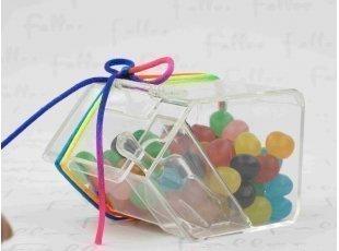 Bac à bonbons Dragibus souvenir de baptême