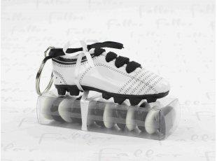Chaussure de foot porte-clés avec dragées baptême