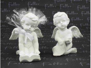 Ange sur bible avec pochon dragées