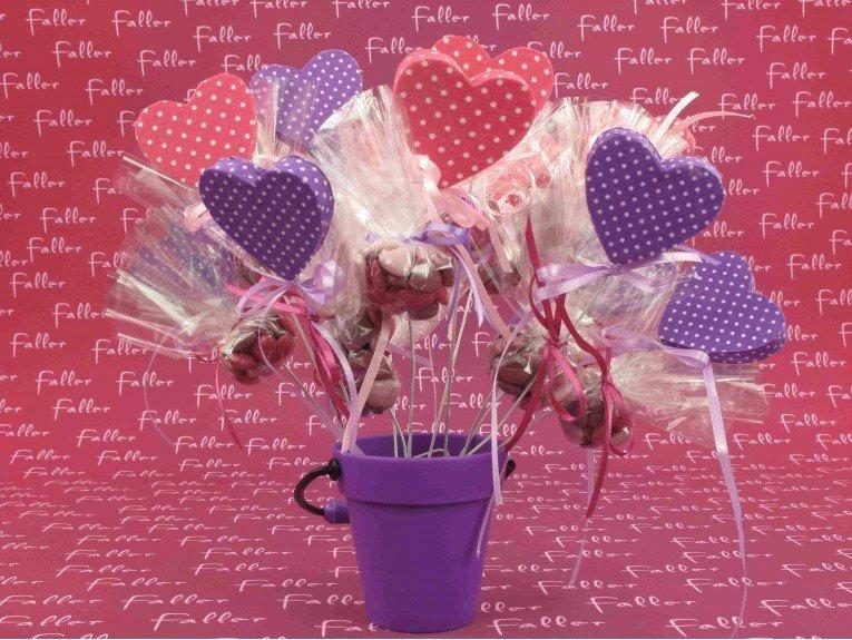 Seau en plastique lilas