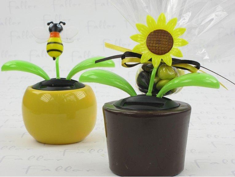 Pot de fleur avec dragées