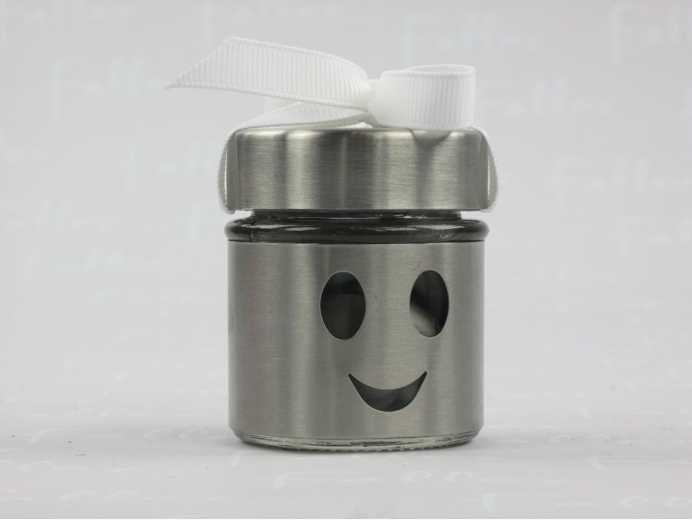 Pot smiley pour baptême garçon