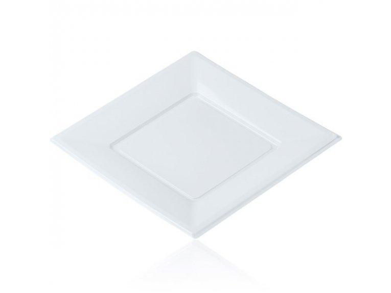 Assiettes plastiques blanches grande taille