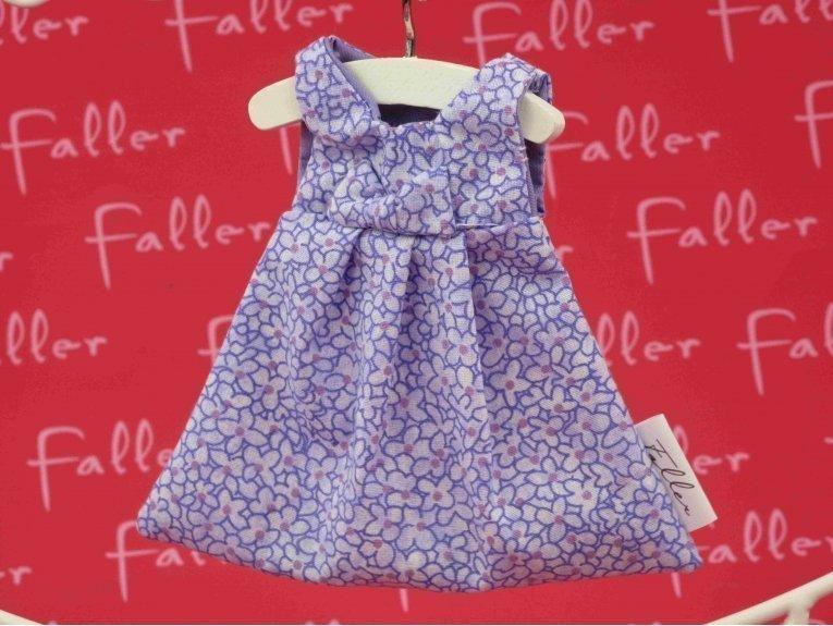 Robes à dragées lilas et fleurs baptême fille