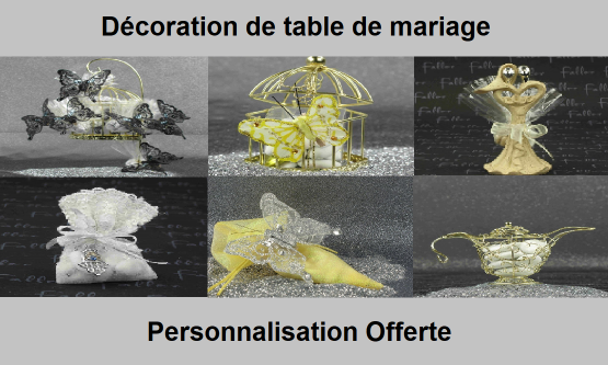 Déco table Mariage