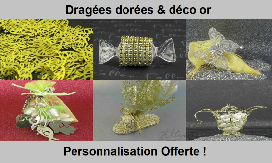 Dragées Or