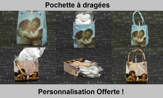 Pochette à dragées originales - Chic & Pas Cher