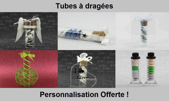 Tubes à dragées originaux - Chic & Pas Cher
