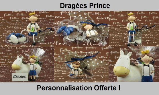Dragées prince - Déco sur le thème Prince