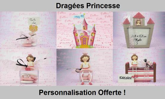 Dragées princesse - Déco sur le thème Princesse