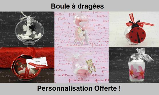 Boule à dragées originales - Chic & Pas Cher