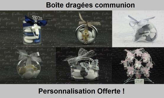 Boite Dragées Communion - Chic & Pas Cher