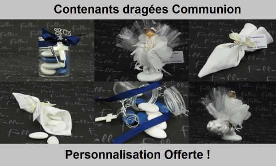 Contenant Dragées Communion - Chic & Pas Cher