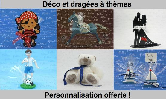 Dragées et décorations par thème | Dragées Faller