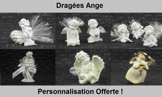 Dragées ange - Déco sur le thème des anges