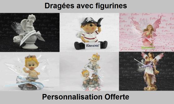 Dragées avec figurines et sujets | Dragées Faller