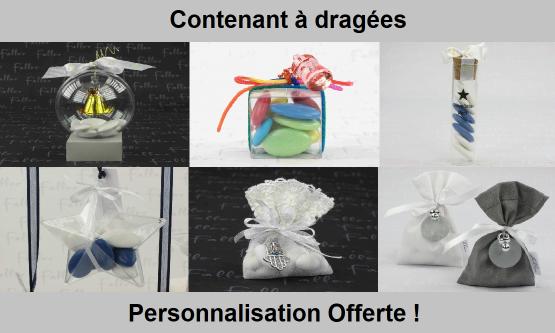 achat contenants à dragées Besançon