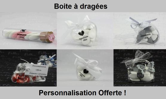 Achat boîte de dragées Narbonne