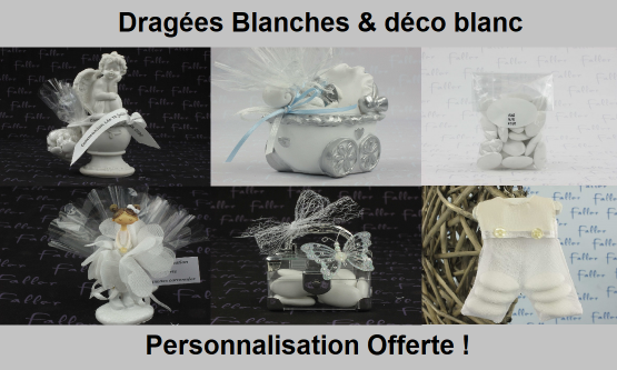 Dragées Blanc