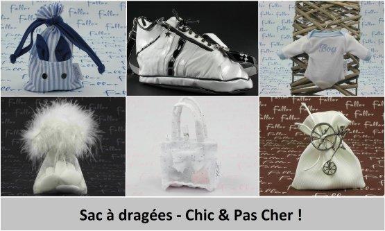 Sac à dragées original - Chic & Pas Cher