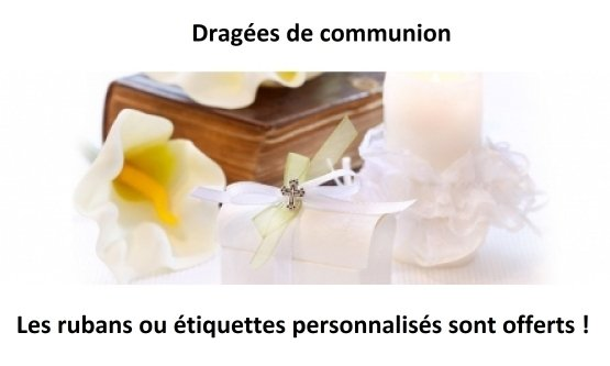 dragées communion rodez